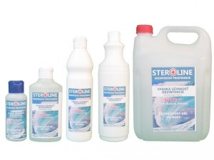 STEROLINE dezinfekčný gél na ruky Ocean Spray