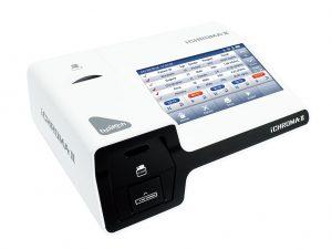 Covid-19 Ag imunofluorescenčný test pomocou zariadenia iChromax II