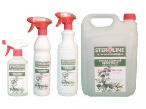 STEROLINE dezinfekčný prostriedok na ruky Wellness Aroma